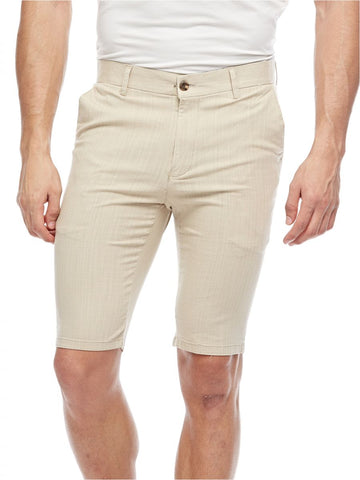 MGL61T MENS SHORTS (BEIGE)
