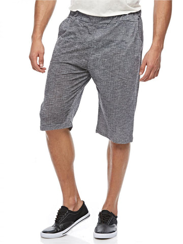 MGL67R MENS BERMUDA SHORTS (D. GREY)