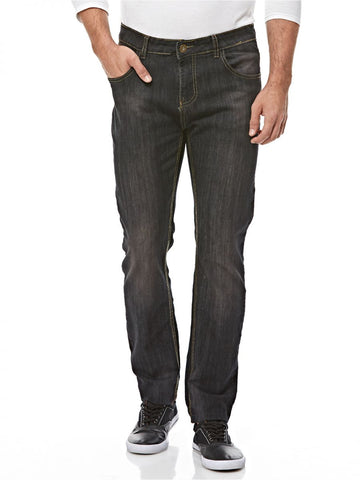 MGM54A MENS DENIM JEANS (BLACK)