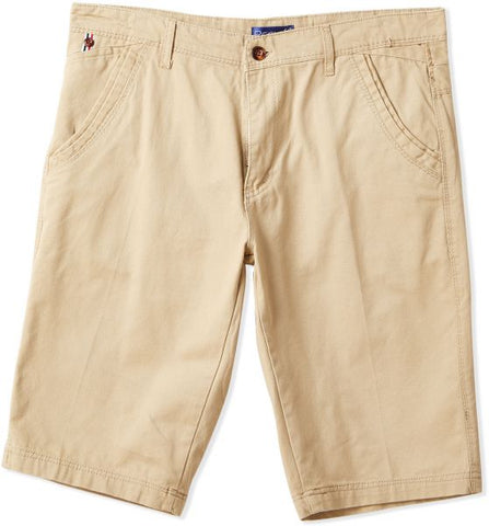 MGO52J MENS SHORTS (D. YELLOW)