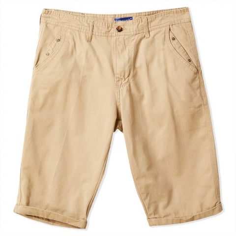 MGO52T MENS SHORTS (BEIGE)