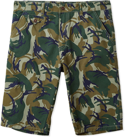 MGO53H MENS SHORTS (D. GREEN)