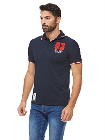 MGP60F MEN POLO T-SHIRT (N. BLUE)