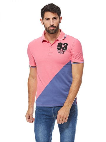 MGP61K MEN POLO T-SHIRT (PINK)