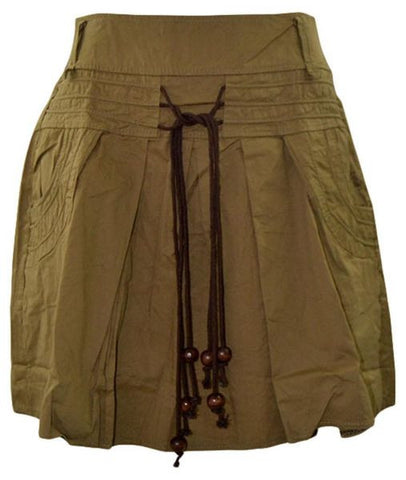 Reflex 1024LGC91 Casual Skirt for Women , Beige