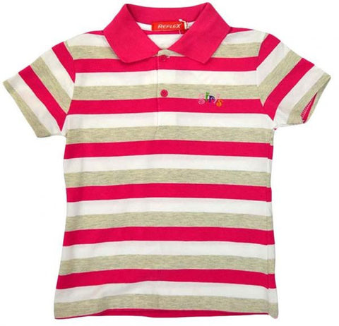 Reflex 3021Cgb61 T-Shirt For Girls , Multi Color