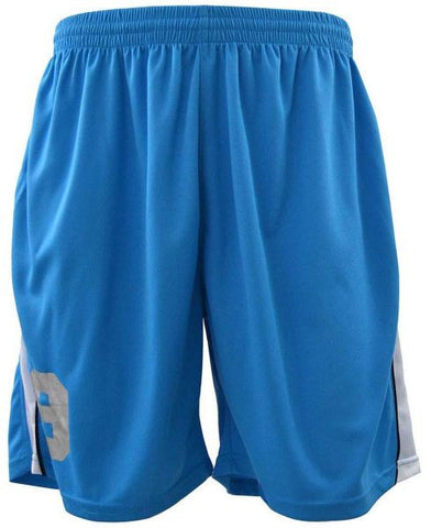 Reflex 2062MGC79 Active Running Shorts for Men - Light Blue