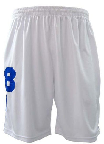 Reflex 2062MGC81 Active Running Shorts for Men - White/Blue