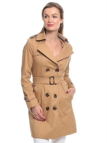 Ladies Trench Coat 1048LGI52 - Brown