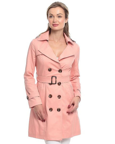 Ladies Trench Coat 1048LGI52 - Pink