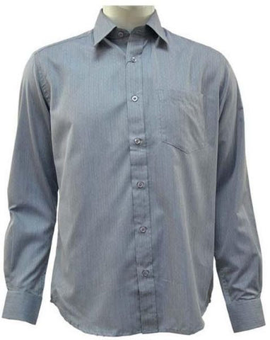 Reflex Mia72Q06 Dress Shirt For Men , Light Gray