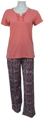 Reflex LPA50E Pajama Set for Women -  Orange