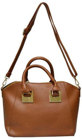 Reflex 1121AGD53 Tote Bag for Women - Faux Leather (Brown)