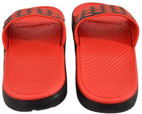 Reflex Slides for Men , Red and Black