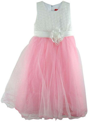 Reflex Formal Party Dress for Girls - 6 Years, Light Pink
