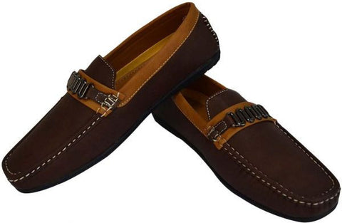 Reflex Loafers for Men , Dark Brown