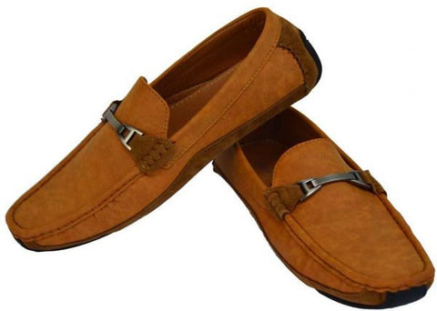 Reflex FGD52O Loafers for Men , Light Brown