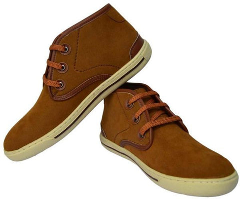 Reflex FGD56O Fashion Sneakers for Men , Light Brown