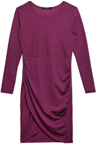Reflex 1025LGH60 Bodycon Dress  for Women, PURPLE