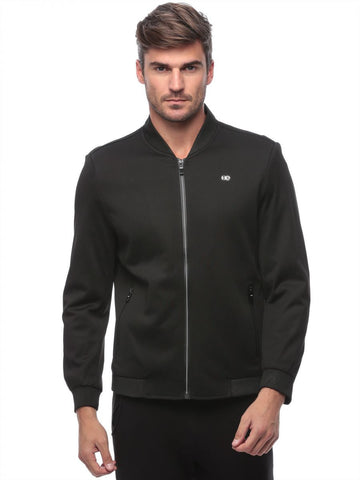 Reflex 2012MGI55 Polyester Zip Up Jacket For Men - Black