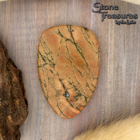 Lake Michigan Jasper Cabochon - Stone Treasures by the Lake