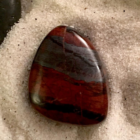 Jaspilite Cabochon - Stone Treasures by the Lake