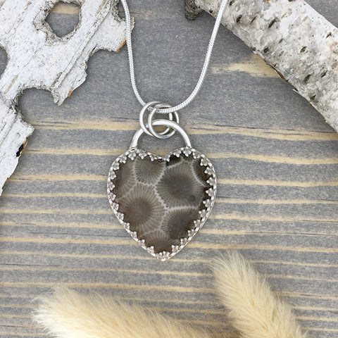 Petoskey Stone Jewelry - Stone Treasures by the Lake
