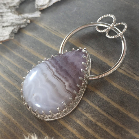 Amethyst Lace - Stone Treasures by the Lake