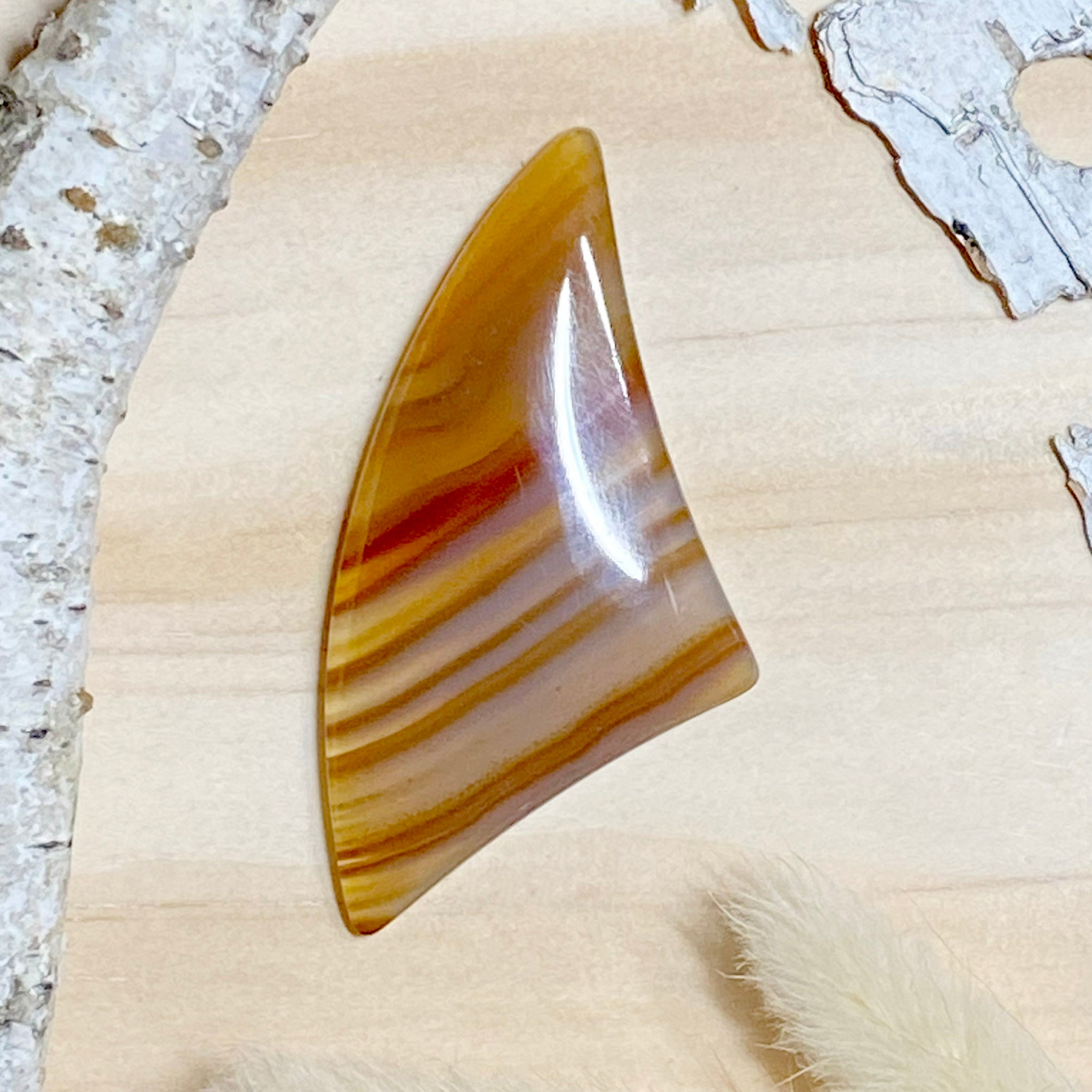 Brazilian Agate - Stone Treasures by the Lake