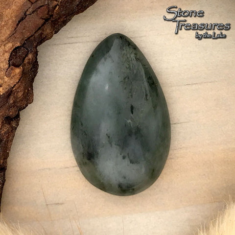 Vermarine Cabochon - Stone Treasures by the Lake