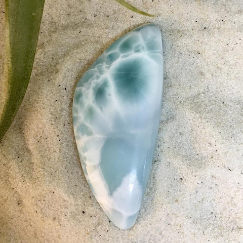 Larimar Cabochon - Stone Treasures by the Lake