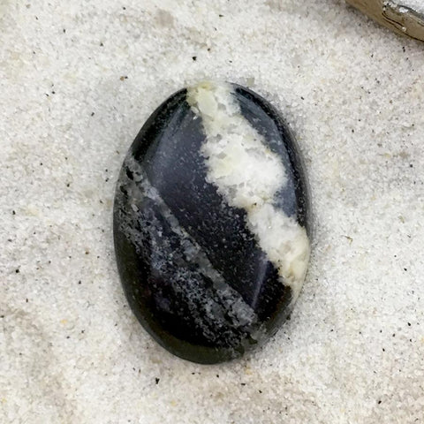 Gneiss Cabochon - Stone Treasures by the Lake