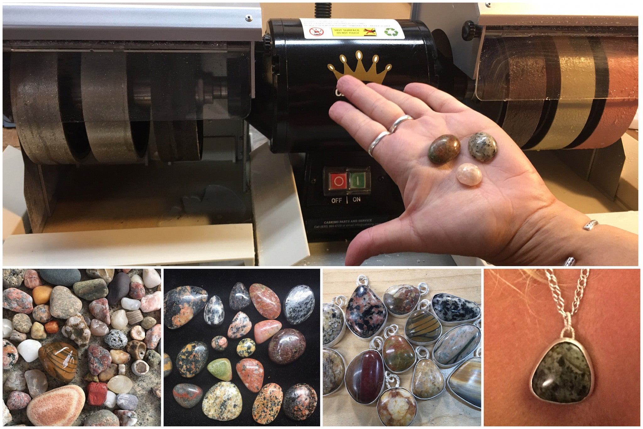 Lapidary Services - Stone Treasures by the Lake