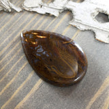 Maury Mountain Agate Cabochon Front View II - Stone Treasures by the Lake