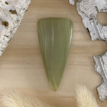 Load image into Gallery viewer, Green Onyx Cabochon Front View - Stone Treasures by the Lake
