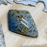 Dumortierite Cabochon Front View II - Stone Treasures by the Lake
