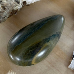 Basalt Cabochon Front View - Stone Treasures by the Lake
