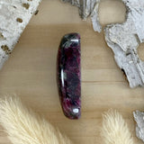 Eudialyte Cabochon FSide View - Stone Treasures by the Lake