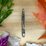 Pyrite Agate Cabochon Side View - Stone Treasures by the Lake