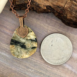 Handcrafted Lake Michigan Granite Pendant Necklace - Stone Treasures by the Lake
