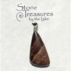 Jasper Stone Pendant - Stone Treasures by the Lake