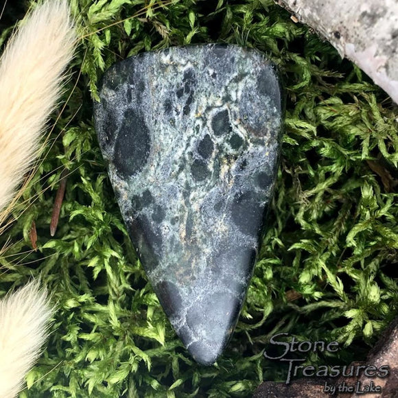Kambaba Jasper Cabochon - Stone Treasures by the Lake