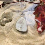 Lake Michigan Hematite Pendant with Necklace - Stone Treasures by the Lake