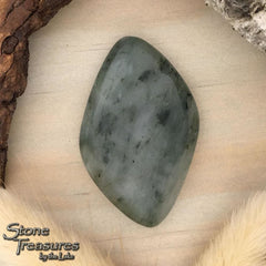 Lake Michigan Vermarine Cabochon - Stone Treasures by the Lake