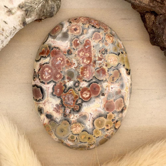 Leopardskin Cabochon - Stone Treasures by the Lake