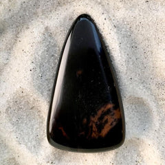 Mahogany Obsidian Cabochon - Stone Treasures by the Lake