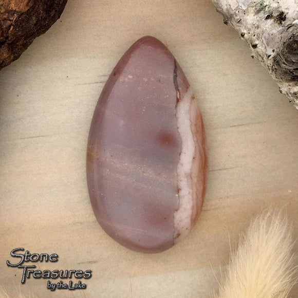 Monte Cristo Jasper Cabochon  - Stone Treasures by the Lake