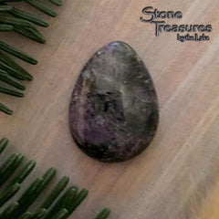 Russian Charoite Stone Cabochon - Stone Treasures by the Lake