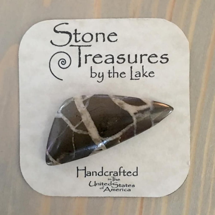 Septarian Cabochon - Stone Treasures by the Lake