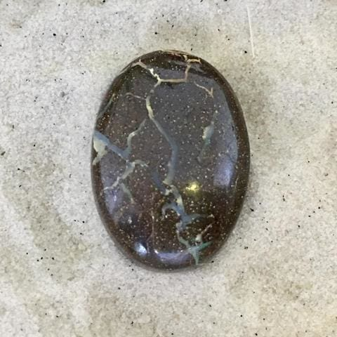 Boulder Opal Cabochon - Stone Treasures by the Lake